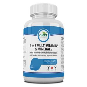 Multi Vitamins and Minerals A-Z One a Day Tablets Free P&P Multivitamin