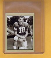 Fran Tarkenton, rookie season '61 Minnesota Vikings, Lone Star limited edition