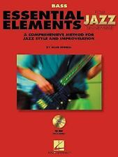 Essential Elements for Jazz Ensemble : Bass (2000, Paperback) With 2 CD's