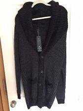 Alex Christopher Cowl Neck Knit Cardigan - Large - Brand New