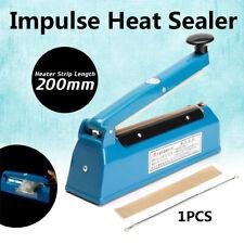 """12"""" Heat Sealing Machine Impulse Sealer Seal Machine Poly Tubing Plastic Bag Kit"""