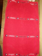 TOMMY HILFIGER RED BLUE LOGO FLAG RIBBED (1PC ) HAND TOWEL 15 X 25