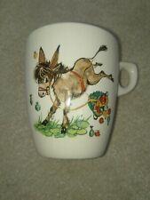 Rare Vintage Child's Lord Nelson Ware Pottery Donkey Mug