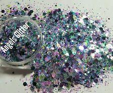 Nail glitter 5g FROZEN multicut for acrylic or gel