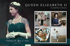 PALAU  2012 - QUEEN ELIZABETH 2 QEII DIAMOND JUBILEE SHEET OF 4 STAMPS  MNH