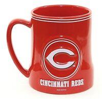 Boelter Brands Cincinnati Reds Large Ceramic Mug Red White 16 Oz NWT