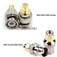 Adapter BNC Female/Male Buchse Jack To SMA Male/Female Plug Stecker RF Connector