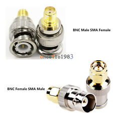 Adapter BNC Female/Male Buchse Jack To SMA Male/Female Plug Stecker RF Connector