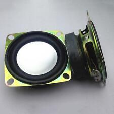 PRO 2Pcs Audio Full Range Speaker Stereo Woofer Loudspeaker 52mm 2 inch 4Ohm 3W