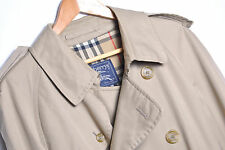 KD1260 BURBERRYS' VINTAGE TRENCH COAT ORIGINAL PREMIUM MADE IN ENGLAND size52/42
