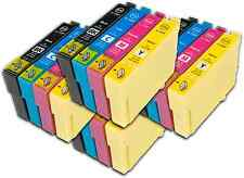 16 T1295 non-OEM Ink Cartridges For Epson T1291-4 Stylus Workforce WF-3530DTWF