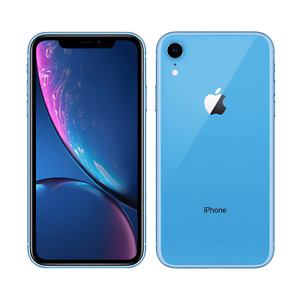Apple iPhone XR 64GB Fully Unlocked (GSM+CDMA) AT&T T-Mobile Verizon Blue