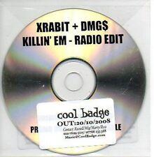 (524B) Xrabit + DMGs, Killin' Em - DJ CD