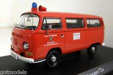 Schuco 1/43 Scale 03228 VW T2a Bus Feuerwehr Bayreuth Diecast model car / Van