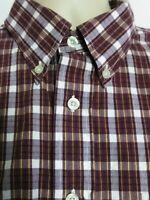 Pendleton Long Sleeve Button Down Boulevard Shirt Check Mens XL