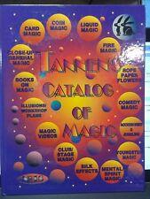 TANNEN'S CATALOG OF MAGIC NO. 18 HARDCOVER 1995 HC MINT