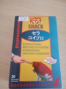 Sera Koi Snack, 20 Knabberstangen, To Lining From Hand, Koisnack, Koi Food