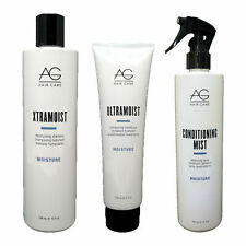 AG Hair Care Xtramoist Shampoo UltraMoist Conditioner & Conditioning Mist Trio