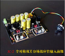 Famous FET Class A Preamplifier 3 ways input selection Assembled Based on JC-2