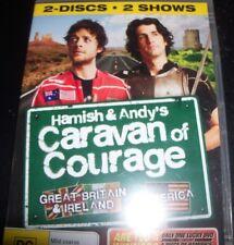 Hamish and Andy's Caravan Of Courahe UK / USA (Aust Reg 4) 2 DVD - New
