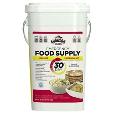 Augason Farms Deluxe Emergency 30-Day Food Supply (1 Person), 200 Servings