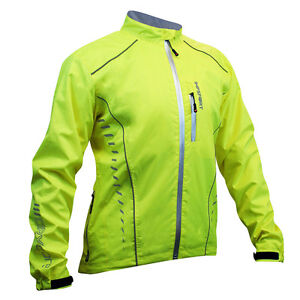 Impsport Drycore 10k Waterproof & Windproof Cycling Jacket - Hi Vis Yellow