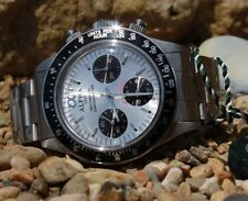 Stainless Steel Case Mechanical (Hand-winding) Sport Watches