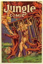 JUNGLE COMICS #144 (1951) VG (4.0) ~ FICTION HOUSE ~ KAANGA ~ JUNGLE COMIC