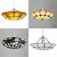 Tiffany Style Ceiling Light MiniSun Non Electric Elegant Lounge Stained Glass