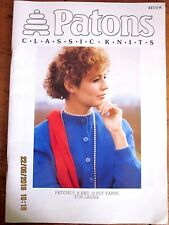 PATONS KNITTING PATTERN No. 53-CLASSIC COLLECTION - 5ply, 8ply, 12ply LADIES-VGC
