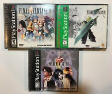 Final Fantasy VII VIII IX 7 8 9 (PS1) Complete (Fast Free Shipping Day Of Purch)