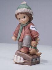 +# A004885 Goebel Archiv Muster Limpke Nina & Marco mit Koffer und Teddy