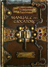 D&D - Dungeons & Dragons Ed 3.5: Manuale del Giocatore - Base I - ITA USATO Suff