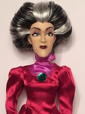 Disney Store Lady Tremaine Wicked Evil Cinderella Stepmother Doll VERY RARE MINT