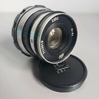 Lens INDUSTAR-61 2.8/52 mm mount M39 Leica Zorki FED Soviet USSR