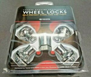 Toyota Genuine Alloy Wheel Locks PT276-60070 14mm x 1.5mm