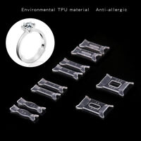 10Pcs Ring Size Adjuster Set Ring Adjuster Pad Reducer Resizing Jewelry Too OQF
