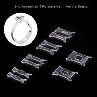 10Pcs Ring Size Adjuster Set Ring Adjuster Pad Reducer Resizing Jewelry Tools ML