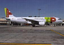 TAP Air portugal , Airbus A320 ,Ansichtskarte, ungel.