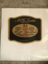 Mcg Textiles Counted Cross Stitch Fabric 32 Count Natural Belgium Linen 20�x27�