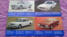 LANCIA  Beta Fulvia 2000 HF Coupe Deutsch Broschüre Prospekt Katalog in Farbe
