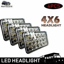 2Pair 4''x6'' inch LED Headlight Hi/Lo Replace Hid Halogen Bulb KW Kenworth T600