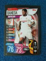Match Attax Card - Europa League 2019/20 - Ever Banega - Sevilla