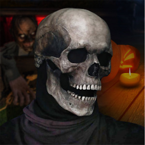 Halloween Full Head Skull Mask/helmet With Movable Jaw  cosplay