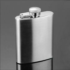 Stainless Steel Flask 4oz Hip Liquor Whiskey Alcohol Flask Cap with Funnel Good