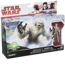 "Figure Force Link 2.0 ESB TLJ Star Wars 3 3//4/"" Wampa w//Luke Skywalker Hoth"