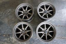 """JDM 15"""" X 9"""" AE86 Datsun pcd114.3 wheels 240z RS Banana watanabe Z31 s30 260z"""