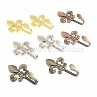 Colors Tieback Hooks Door Home Decor Curtain Accessories Towel Hanger Zinc Alloy
