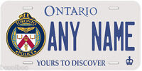 Ontario Toronto Police Any Name Personalized Novelty Auto Car License Plate