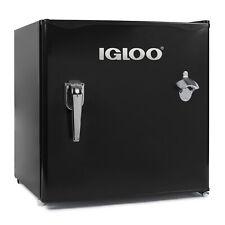 Igloo Irf16Rsbk 1.6-Cu. Ft. Classic Refrigerator Freezer with Chrome Handle &.